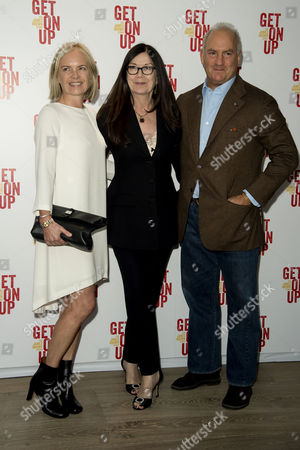 'Get On Up' Screening at the Ham Yard Hotel Piccadilly Mariella Frostrup Victoria Pearman and Charles Finch