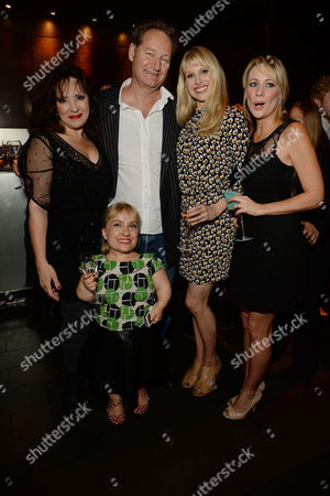 'Great Britain' Press Night Transfer to the Theatre Royal Haymarket and Party at Mintleaf Harriet Thorpe Richard Bean Kiruna Stamell Lucy Punch and Kellie Shirley