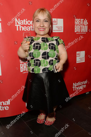 Stock Picture of 'Great Britain' Press Night Transfer to the Theatre Royal Haymarket and Party at Mintleaf Kiruna Stamell