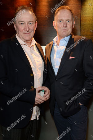 'Great Britain' Press Night Transfer to the Theatre Royal Haymarket and Party at Mintleaf Dermot Crowley and Robert Glenister