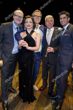 'Gypsy' Press Night at the Savoy Theatre; the Strand Michael Harrison; Lara Pulver; Jonathan Kent; David Ian and Raza Jaffrey