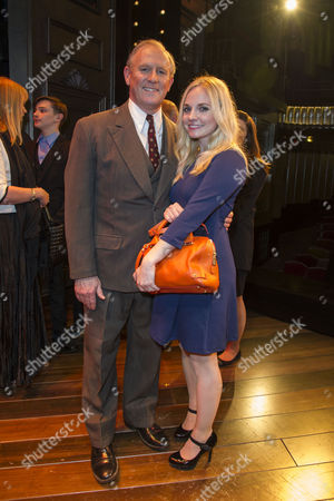 'Gypsy' Press Night at the Savoy Theatre; the Strand Peter Davison with His Daughter Georgia Moffett