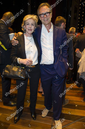 'Gypsy' Press Night at the Savoy Theatre; the Strand Patricia Hodge and Jonathan Kent