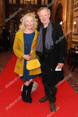 'Handbagged' Press Night Afterparty at the Royal Hourseguards Hotel Stella Gonet with Her Husband Nicholas Farrell