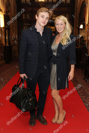 'Handbagged' Press Night Afterparty at the Royal Hourseguards Hotel Ben Hardy and Katriona Perrett