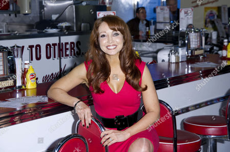 'Happy Days' Photocall For the New Musical at Ed's Diner Rupert Street Producer Amy Anzel