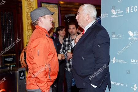 'Hector' Uk Premiere at the Cineworld Haymarket Lord John Bird and Peter Mullan