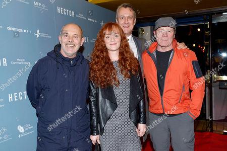 'Hector' Uk Premiere at the Cineworld Haymarket Keith Allen Natalie Gavin Stephen Tompkinson Ewan Stewart