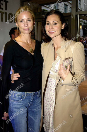 'Hope Springs' Charity Premiere in Aid of Oxfam at the Odeon Westend and Afterparty at Asia Cuba St Martins Lane Hotel Minnie Driver with Her Sister Kate