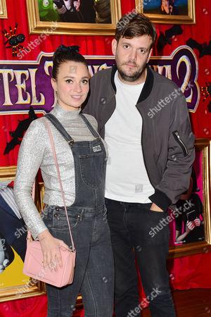 'Hotel Transylvania 2' Screening at the Soho Hotel Gizzi Erskine with Her Boyfriend Jamie Reynolds