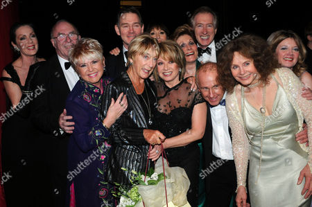'I'd Like to Teach the World to Sing' in Aid of the Royal Brompton Hospital Ian Adam Memorial Fund at Her Majesty's Theatre Lorraine Chase Clive James Gloria Hunniford Anthony Andrews Anita Harris Peter Land Gillian Lynne Elaine Paige Wayne Sleep and Sarah Miles