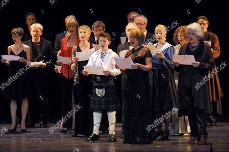 'I'd Like to Teach the World to Sing' in Aid of the Royal Brompton Hospital Ian Adam Memorial Fund at Her Majesty's Theatre Elaine Paige and Sally Ann Howes
