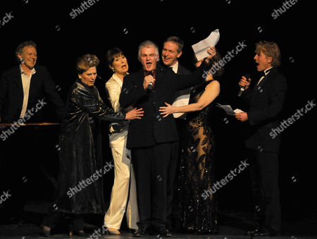 Stock Picture of 'I'd Like to Teach the World to Sing' in Aid of the Royal Brompton Hospital Ian Adam Memorial Fund at Her Majesty's Theatre Hilton Mcrae Lorna Dallas and Anita Harris Scott Davies and Jonathan Morris