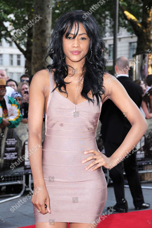 'Ill Manors' World Premiere at the Empire Leicester Square Tiana Benjamin