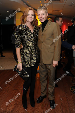 'It's A Lot' Premiere at the Vue Cinema Leicester Square Patsy Palmer with Her Son Charley Palmer Rothwell
