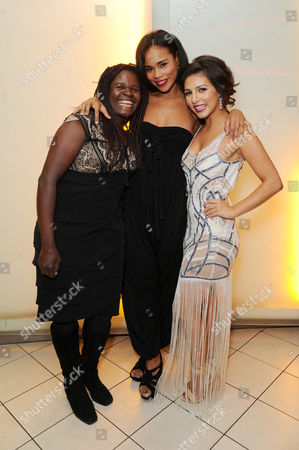 'It's A Lot' Premiere at the Vue Cinema Leicester Square Roxy Sternberg with Her Mother and Roxanne Pallett