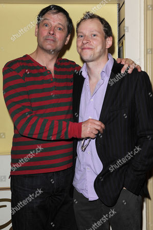 'Jeeves and Wooster' Cast Change Press Night at the Duke of York's Theatre St Martin's Lane Mark Heap and Robert Webb