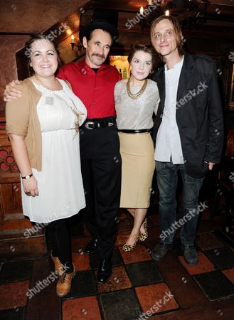 'Jerusalem' Opening Night Transfer at the Apollo Theatre with Afterparty at Waxy O'connors Charlotte Mills Mark Rylance Aimèe-Ffion Edwards Mackenzie Crook