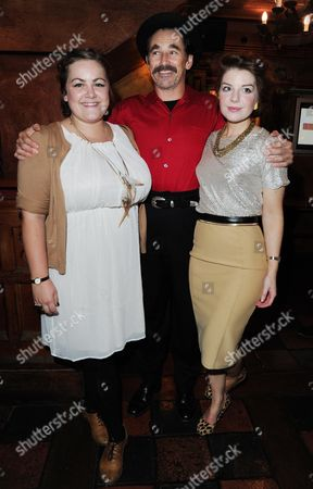 Stock Picture of 'Jerusalem' Opening Night Transfer at the Apollo Theatre with Afterparty at Waxy O'connors Charlotte Mills Mark Rylance and Aimèe-Ffion Edwards