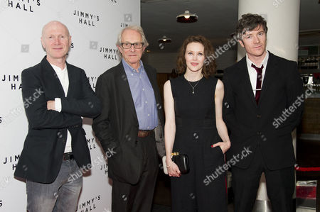 'Jimmy's Hall' Uk Premiere at the Bfi Southbank Paul Laverty Ken Loach Simone Kirby and Barry Ward