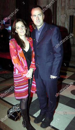 'Johnny English' World Charity Premiere in Aid of the Nspcc at the Empire Leicester Square and Afterparty at the Law Courts the Strand Angus Deayton and Lisa Mayer