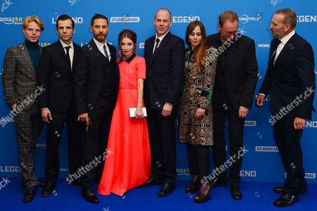 'Legend World Premiere' at the Odeon Leicester Square Charley Palmer Rothwell Mel Raido Tom Hardy Emily Browning Director Brian Helgeland Tara Fitzgerald David Thewlis and Christopher Eccleston