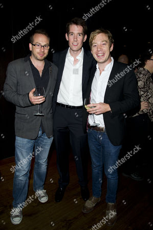 'Let It Be' Press Night at Prince of Wales Theatre and After Party at Dstrkt Rupert Street Jamie Hendry (producer) and Nicholas Lloyd Webber