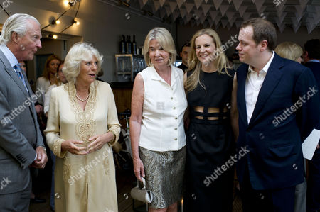 'Let's Eat Recipes From My Kitchen' Book Party at Selfridges Galen Weston Camilla Duchess of Cornwall Hilary Weston Alannah Weston and Author Tom Parker Bowles