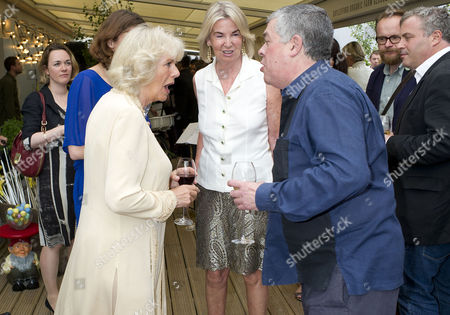 'Let's Eat Recipes From My Kitchen' Book Party at Selfridges Camilla Duchess of Cornwall and Hilary Weston