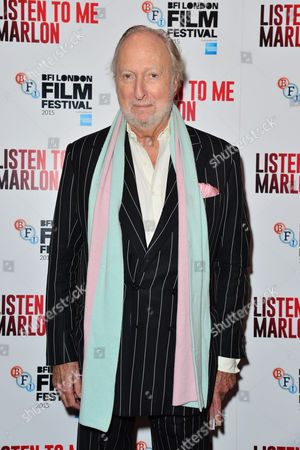 'Listen to Me Marlon' Official Screening at the Curzon Mayfair During the Bfi London Film Festival Ed Victor