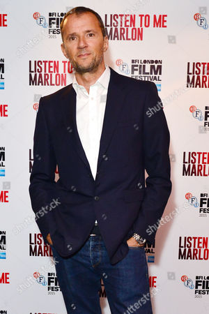 'Listen to Me Marlon' Official Screening at the Curzon Mayfair During the Bfi London Film Festival Producer John Battsek
