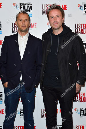 'Listen to Me Marlon' Official Screening at the Curzon Mayfair During the Bfi London Film Festival Producer John Battsek and Director Stevan Riley