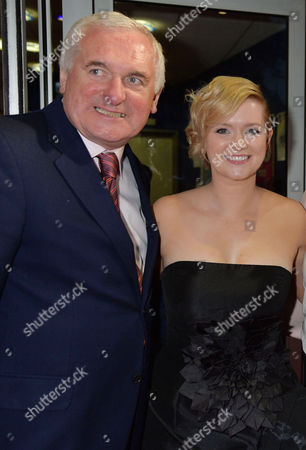 'Love Rosie' World Premiere at the Odeon West End Leicester Square London Cecelia Ahern with Her Father Bertie Ahern