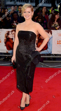 'Love Rosie' World Premiere at the Odeon West End Leicester Square London Cecelia Ahern