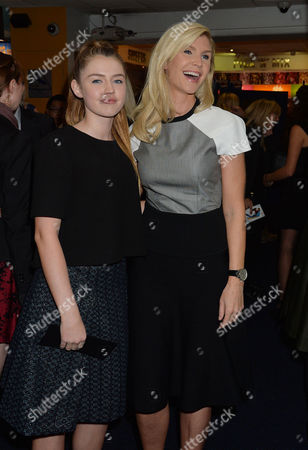 'Love Rosie' World Premiere at the Odeon West End Leicester Square London Yvonne Connolly and Her Daughter Missy Keating