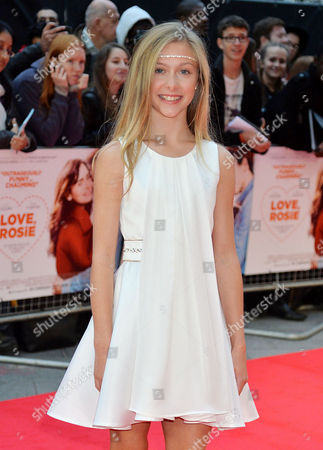 'Love Rosie' World Premiere at the Odeon West End Leicester Square London Lily Laight