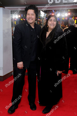 'Mandela - Long Walk to Freedom' Inside Arrivals Royal Film Premiere Gurinder Chadha with Her Husband Paul Mayeda Berges