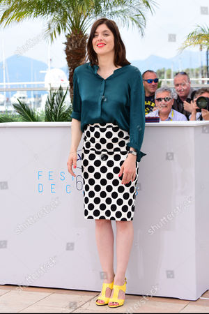 'Marguerite and Julien' Photocall at the Palais Des Festivals During the 68th Cannes Film Festival Jeremie Elkaim; Director Valerie Donzelli