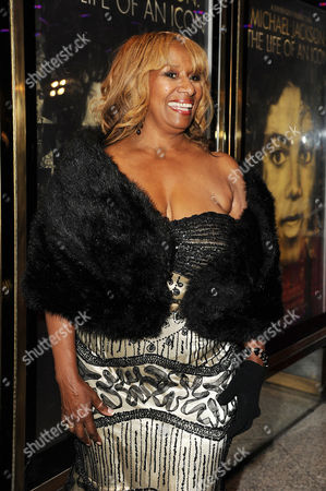 Stock Photo of 'Michael Jackson Life of an Icon' at the Empire Leicester Square Brenda Holloway