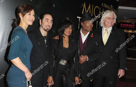 'Michael Jackson Life of an Icon' at the Empire Leicester Square Susan Yu David Gest Rebbie Jackson Tito Jackson and Thomas Mesereau Jr