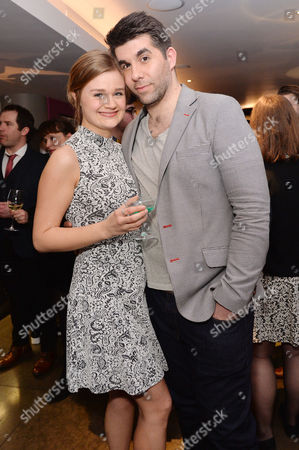 Stock Image of 'Miss Atomic Bomb' Press Night at St James Theatre Lucy May Barker and Simon Lipkin
