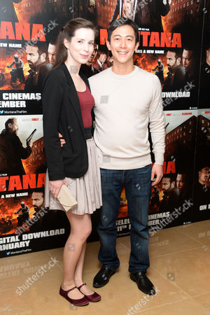 Stock Picture of 'Montana' Gala Screening at the Mayfair Hotel Akie Kotabe and Jennifer Dawn Williams