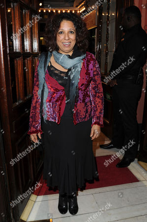 'Much Ado About Nothing' Royal Shakespeare Company Press Night Arrivals at the Noel Coward Theatre St Martins Lane Shobu Kapoor