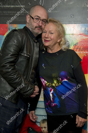 'My Name is Hmmm' Premiere During the 5th Rendez-vous with French Cinema at the Curzon Soho Director Agnes B with Actor Douglas Gordon