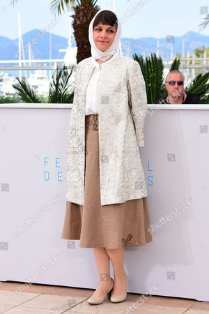 'Nahid' Photocall at the Palais Des Festivals During the 68th Cannes Film Festival Director Ida Panahandeh