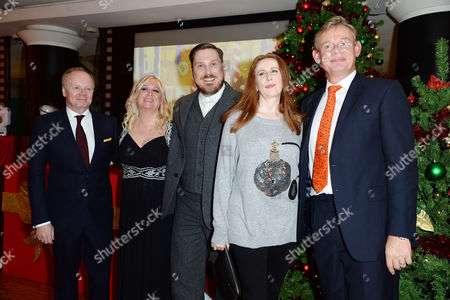 'Nativity 3' Uk Premiere at the Vue Leicester Square Jason Watkins; Director Debbie Isitt Marc Wootton; Catherine Tate and Martin Clunes