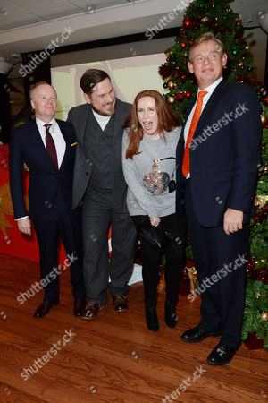 'Nativity 3' Uk Premiere at the Vue Leicester Square Jason Watkins Marc Wootton Catherine Tate and Martin Clunes