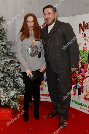 'Nativity 3' Uk Premiere at the Vue Leicester Square Catherine Tate and Marc Wootton