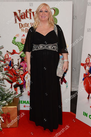 'Nativity 3' Uk Premiere at the Vue Leicester Square Director Debbie Isitt