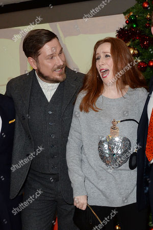'Nativity 3' Uk Premiere at the Vue Leicester Square Marc Wootton and Catherine Tate